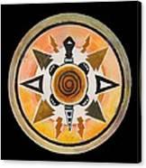 Turtle Mandala Canvas Print