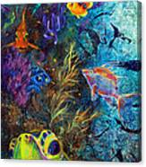 Turtle Wall 3 Canvas Print