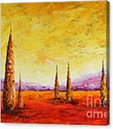 Tuscan Blast Canvas Print
