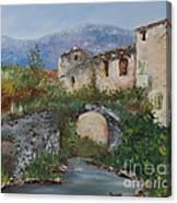 Tuscan Bridge Canvas Print