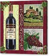 Tuscan Collage 1 Canvas Print