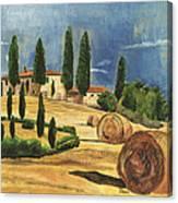 Tuscan Dream 2 Canvas Print