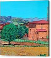 Tuscan Farm Village Canvas Print