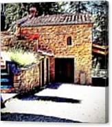 Tuscan Farmhouse Canvas Print