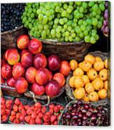 Tuscan Fruit Canvas Print