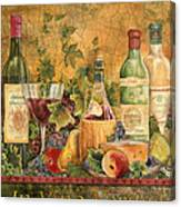 Tuscan In Vino Veritas Canvas Print