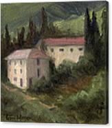 Tuscan Landscape II Canvas Print