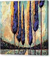 Tuscan Landscape Vertical Canvas Print