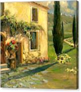 Tuscan Spring Canvas Print