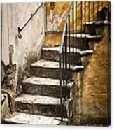 Tuscan Staircase Canvas Print