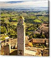 Tuscan Tower Canvas Print