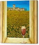 Tuscan View Canvas Print