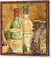 Tuscan Wine-a Canvas Print