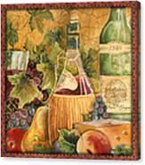 Tuscan Wine-c Canvas Print