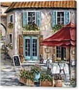 Tuscan Trattoria Canvas Print