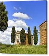Tuscany - Cappella Di Vitaleta Canvas Print