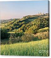 Springtime In Tuscany Canvas Print