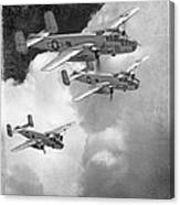 Tuskegee Airman...616th Bombardment Group Canvas Print