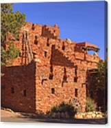 Tuzigoot Museum And Ruins Arizona Canvas Print