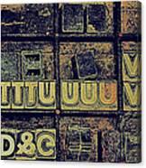 Tv IIi Canvas Print
