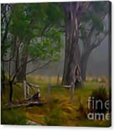 Twas Indeed A Mystical Morning Canvas Print