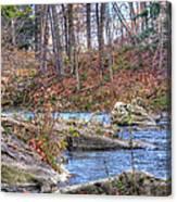 Twenty Mile Creek Canvas Print