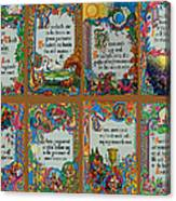 Twenty Third Psalm Collage Canvas Print
