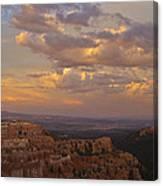 Twilight At Bryce 100 Canvas Print
