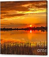 Twilight At The Best Canvas Print