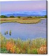 Twilight At Whitewater Draw Canvas Print