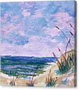 Twilight Beach Canvas Print