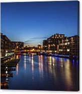 Twilight Docks Canvas Print