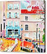 Twilight Montmartre Canvas Print