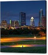 Twilight Skyline Canvas Print