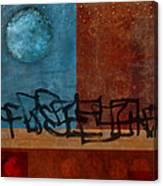 Twilight Walk Canvas Print