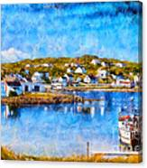 Twillingate In Newfoundland Canvas Print
