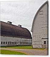 Twin Barns Canvas Print
