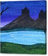Twin Castles Canvas Print