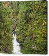 Twin Falls Cascade II Canvas Print