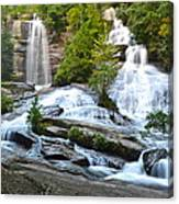 Twin Falls Flows Forth Canvas Print