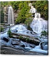 Twin Falls South Carolina Canvas Print