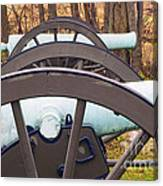Twin Guns Canvas Print