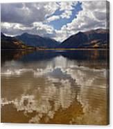 Twin Lake Colorado Canvas Print