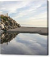 Twin Lakes Beach Canvas Print