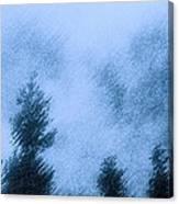 Twin Lakes Rain Canvas Print