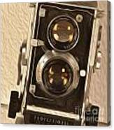 Twin Lens Reflex Redux Canvas Print