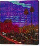 Twin Palms Purple Haze Canvas Print