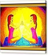 Twin Power. Canvas Print