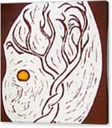 Twining Tree Canvas Print