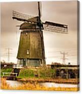 Twiske Windmill Canvas Print